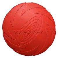 Dysk gumowy PET-NOVA RUB-DISC-RED-22CM frisbee czerwone 22 cm aromat wanilli