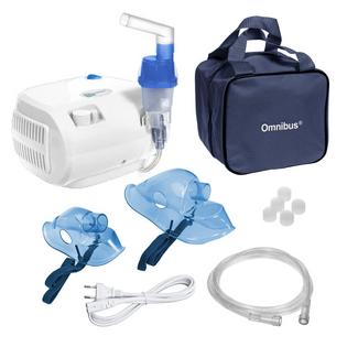 Inhalator kompresorowy nebulizator OMNIBUS BR-CN116 Biały
