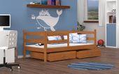 Łóżko wysuwane JACEK P  80x180  szuflady + materac zdjęcie 3