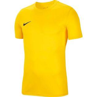 Koszulka dla dzieci Nike Dry Park VII JSY SS żółta BV6741 719