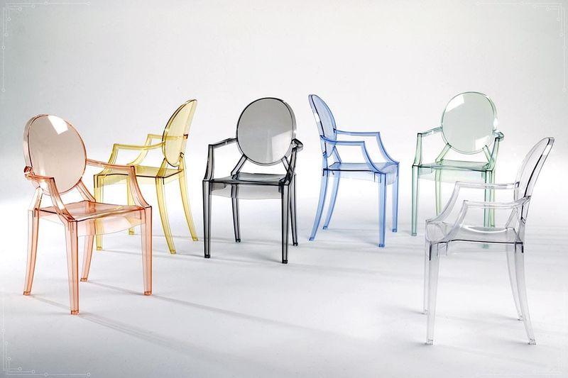 Krzesło Dankor Design Louis Ghost przezroczysty zdjęcie 8