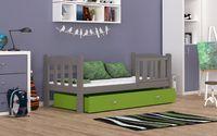 Łóżko dla dzieci TEDI COLOR 160x70  szuflada + materac