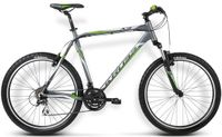 "Kross Hexagon X3 L (21"") grafit-ziel  rower górski na kole 26"