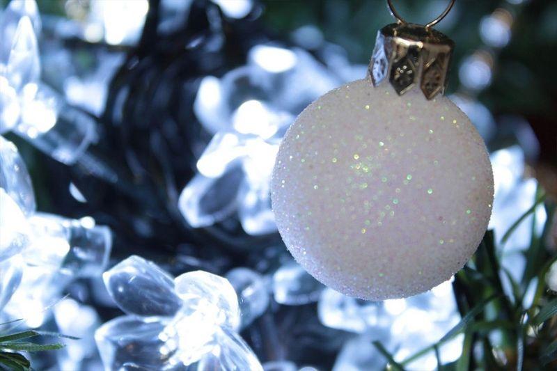 Lampki solarne 50 LED JoyLight w kształcie kwiatków, zimne białe zdjęcie 5