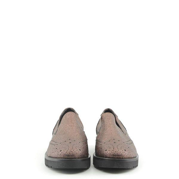 b4ff36e1e3a31 Made in Italia skórzane buty damskie pantofle lordsy brązowy 39 zdjęcie 4