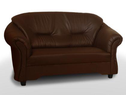 Wygodna sofa tapicerowana dla 2 osób ALEX 2 - miękka kanapa do pokoju