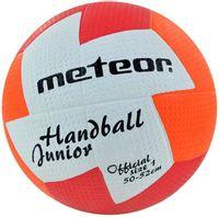 Piłka ręczna Meteor NU Age JUNIOR 1 czerwono-pomarańczowa 04065