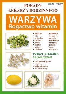 Warzywa Bogactwo witamin Kubanowska Anna