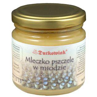 Mleczko Pszczele w Miodzie 250g Dutkowiak
