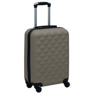 Twarda walizka na kółkach antracytowa ABS VidaXL