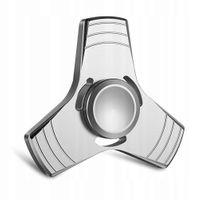 FIDGET SPINNER HAND METALOWY SPINER SREBRNY