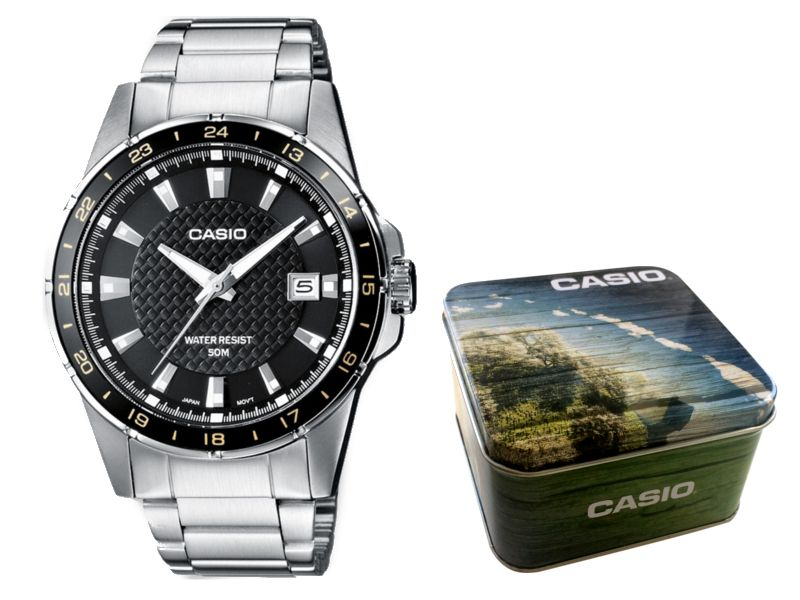 Zegarek męski Casio MTP-1290D-1A2 hologram zdjęcie 1