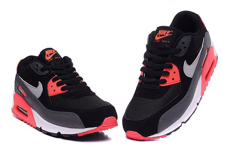 Buty damskie Nike Air Max 90 443817 004 Szare r. 36 37 38 39
