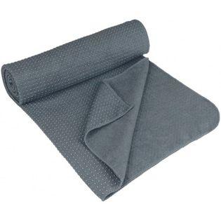 Avento Antypoślizgowy Ręcznik Do Jogi Aura, Szary