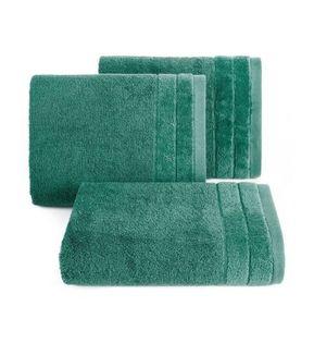 Lumarko Ręcznik DAMLA 50x90cm ciemny zielony