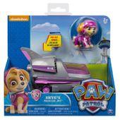 Spin master Pojazd z figurką Psi Patrol, Skye