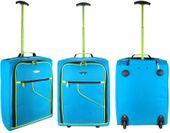 Walizka podróżna Bagaż podręczny TB53 Niebieska