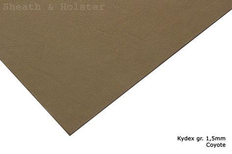 Kydex Coyote  - 200x300mm gr. 1,5mm