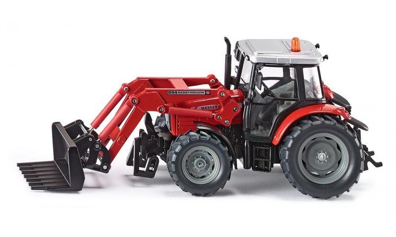 Siku Traktor z Przednią Ładowarką zdjęcie 1