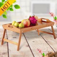 Stolik Śniadaniowy - Kuchenny - Wielofunkcyjny  (Drewno)