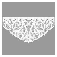 Firanka Zawijas 60 x 35 cm - Firany gotowe | WN681Z