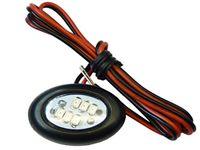 Lampa LED 6 SMD z taśma uniwersalna obrysowa 12v 24v kolory do wyboru