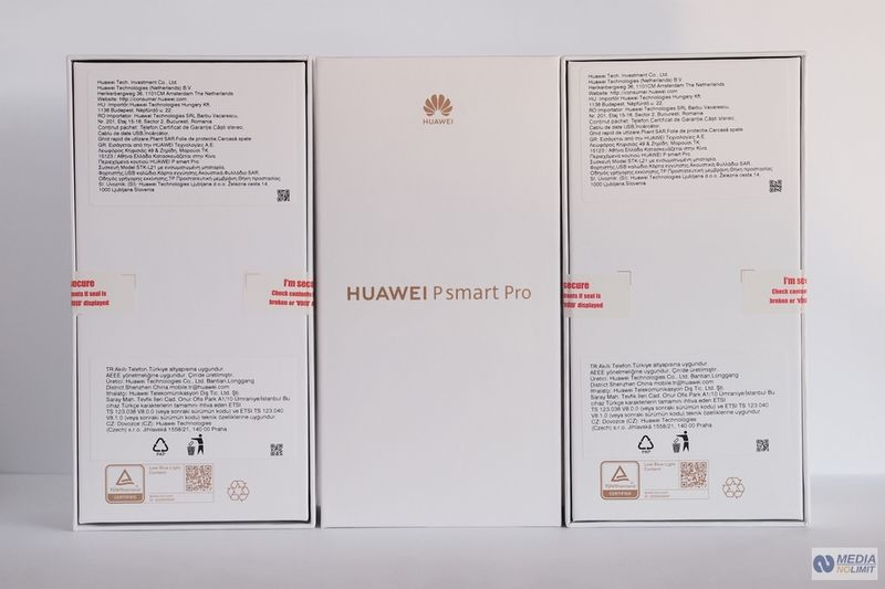 Huawei P smart Pro DS Black Polska Dystrybucja FV VAT 23% Gw 24M zdjęcie 5