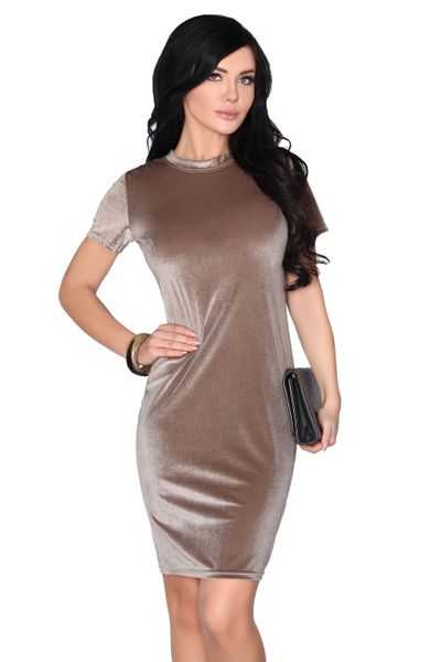 Elegancka Sukienka obcisła aksamitna Mini szykowna i wygodna XL zdjęcie 1