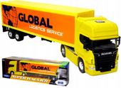 Tir CIĘŻARÓWKA SCANIA GLOBAL V8 R730 MODEL Welly