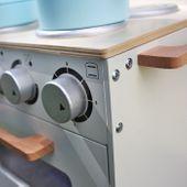 Drewniana Kuchnia Dla Dzieci MINI - ZESTAW NOWOŚĆ zdjęcie 8