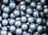 Piłeczki do suchych basenów dodatkowe 50 sztuk piłeczek SREBRNE Kolor - wielokolorowy