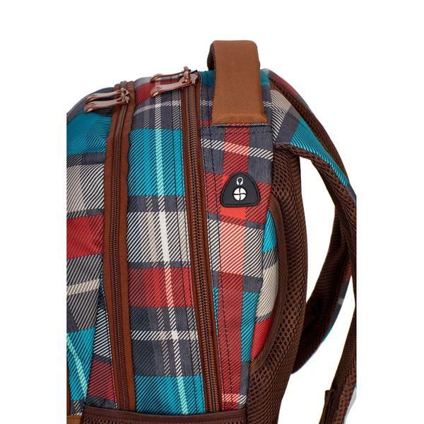 Plecak szkolny młodzieżowy Astra Head HD-97, w kratę zdjęcie 3