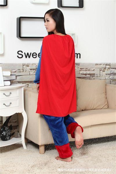 PIŻAMA KIGURUMI ONESIE KOMBINEZON SUPERMAN M zdjęcie 9