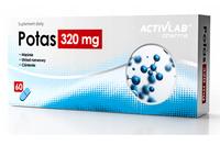 Potas 320 mg 60 kapsułek na krążenie ciśnienie skurcze