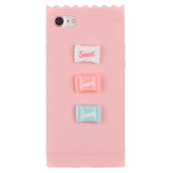 Inne rodzaje iPhone 6 / 6S - Etui silikonowe 4D - Cukierki • Arena.pl DO53