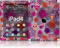 Nexgen Skins - Zestaw skórek na obudowę z efektem 3D iPad 2/3/4 (Owlettes 3D)