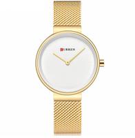 Damski zegarek CURREN na złotej bransolecie