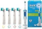 SZCZOTECZKA ELEKTRYCZNA do zębów Braun Oral-B Crossaction +4 końcówki