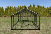 Szklarnia Sanus 2,9x8,5m H=2,25m 24,6m2 szkło hartowane 4mm