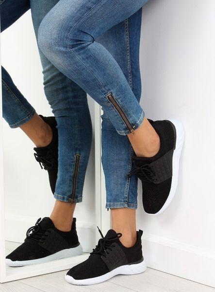 Buty sportowe damskie czarne C928 38 BLACK 40