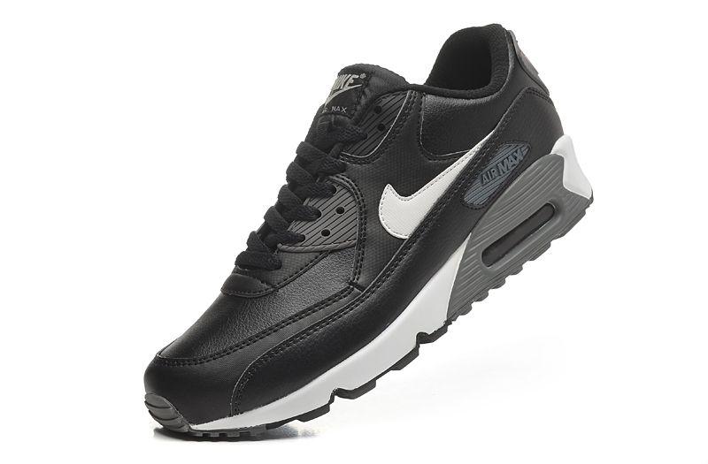 Męskie Skórzane Buty Do Chodzenia Buty Nike Air Max 90