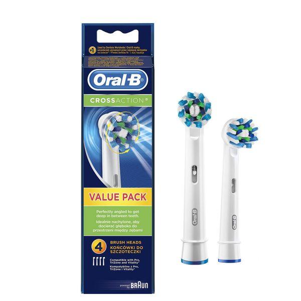 ORAL-B CROSS ACTION 100% ORYGINALNA KOŃCÓWKA zdjęcie 1