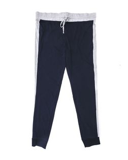 Męskie, szaro-czarne, długie spodnie od piżamy M Ciemnoszary