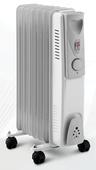 Grzejnik elektryczny olejowy z termostatem 1500W