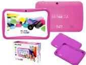 Tablet edukacyjny dla dzieci BLOW KIDS + gry + zestaw - różowy