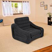 Intex Dmuchany Fotel/łóżko, 107 X 221 X 66 Cm, 1 Osobowe, 68565Np