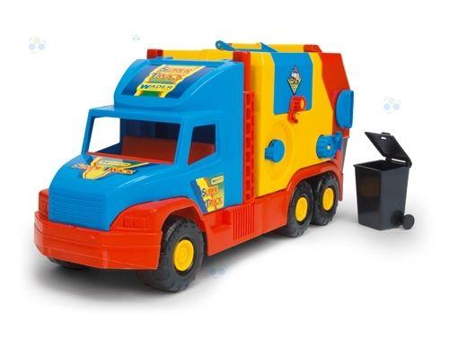 Super Truck Śmieciarka krótka WADER 36580 #A1 zdjęcie 1