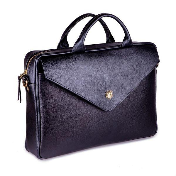 8521c82465ed8 Felice damska skórzana torba na laptopa czarna • Arena.pl
