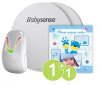 Monitor oddechu BABYSENSE 7 + Album dla synka