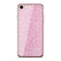 Etui Nakładka Electro Glitter  IPHONE 7/ 8 Rosegold